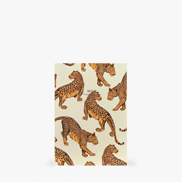 Wouf - Leopard Notebook A5