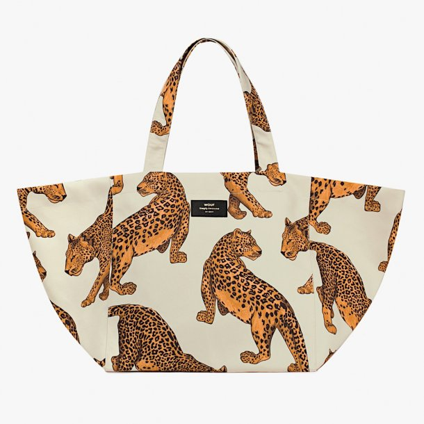 Wouf - Leopard - Tote Bag XL