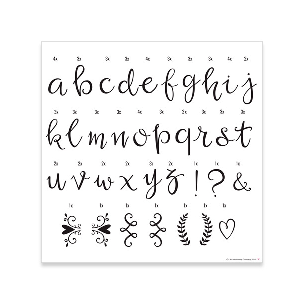 A Little Lovely Company - Light Box - Briefe - Script