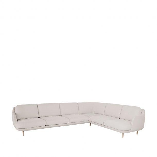 Fritz Hansen - LUNE™ sofa JH610 - 6-pers.