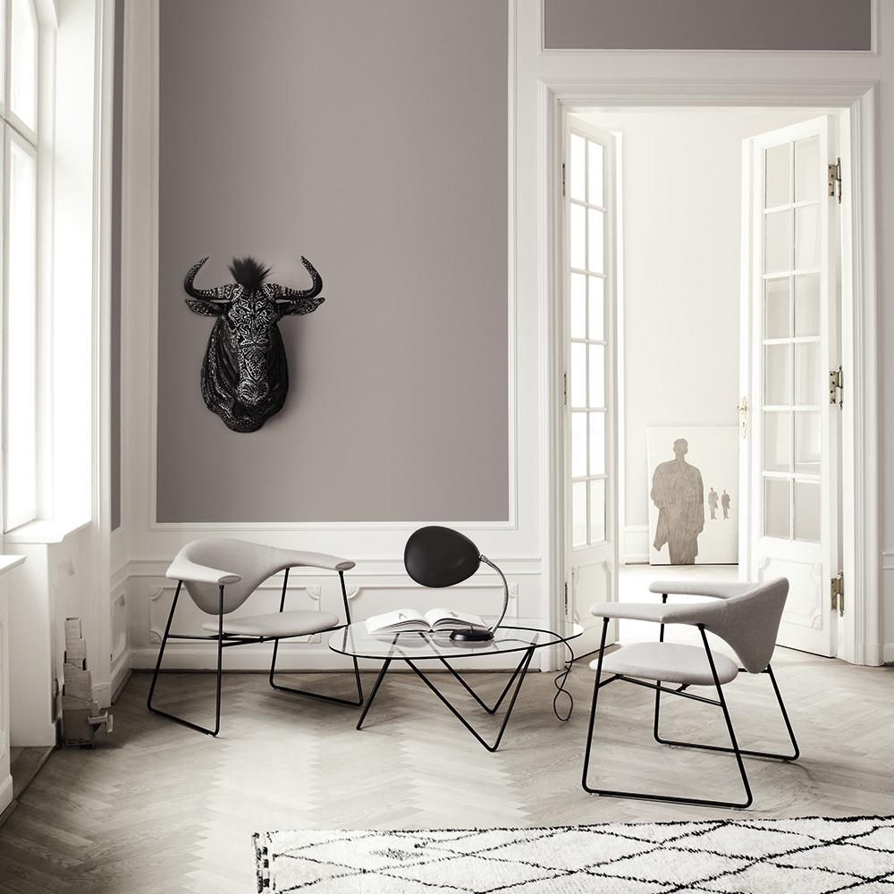 Gubi Masculo Lounge Chair | Swivel Base Gubi Casanova