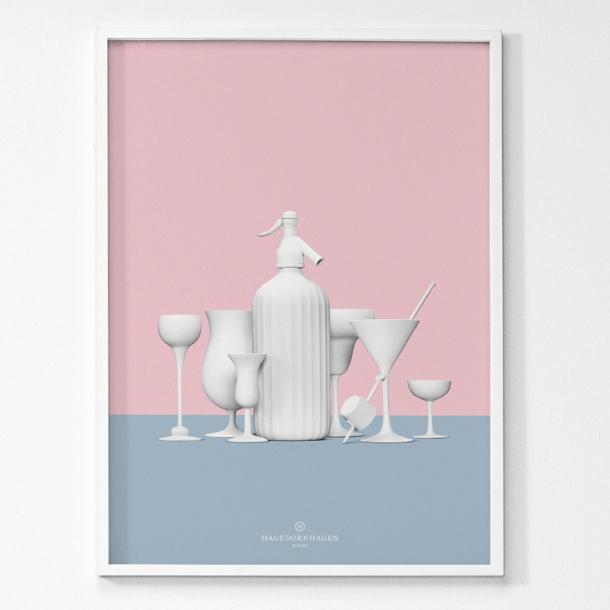 Hagedornhagen - Miami - Poster 50x70