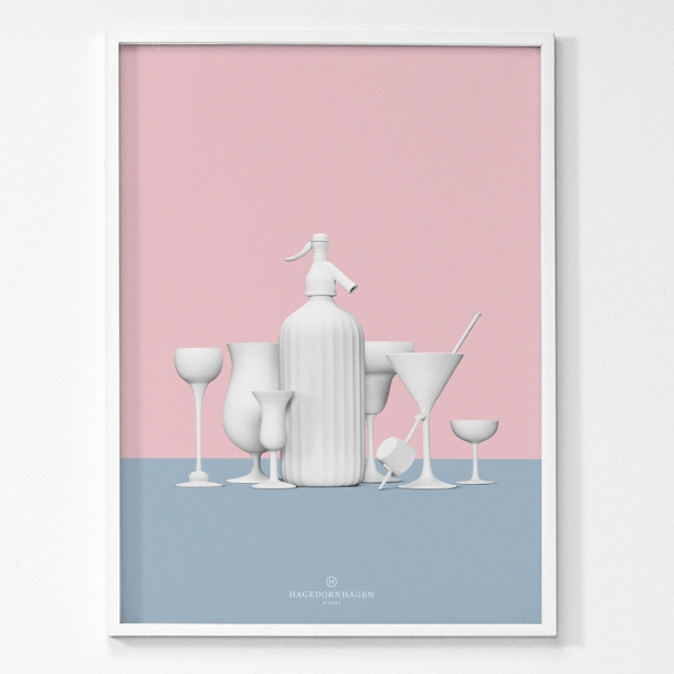 Hagedornhagen - Miami - Plakat 50x70