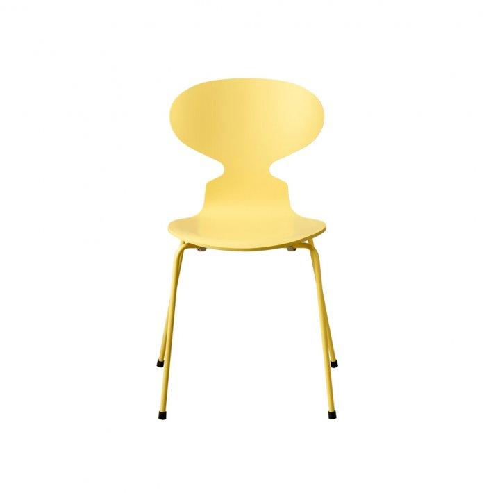 MYREN™ stol 3101 - 4 ben, monokrom, farvet ask