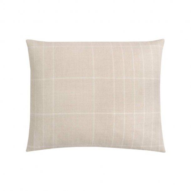Paustian - SOFT pude Checks   White 50x60 cm