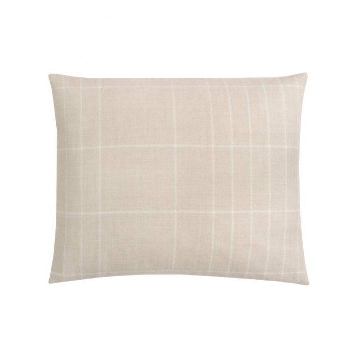 Paustian - SOFT pude Checks | White 50x60 cm