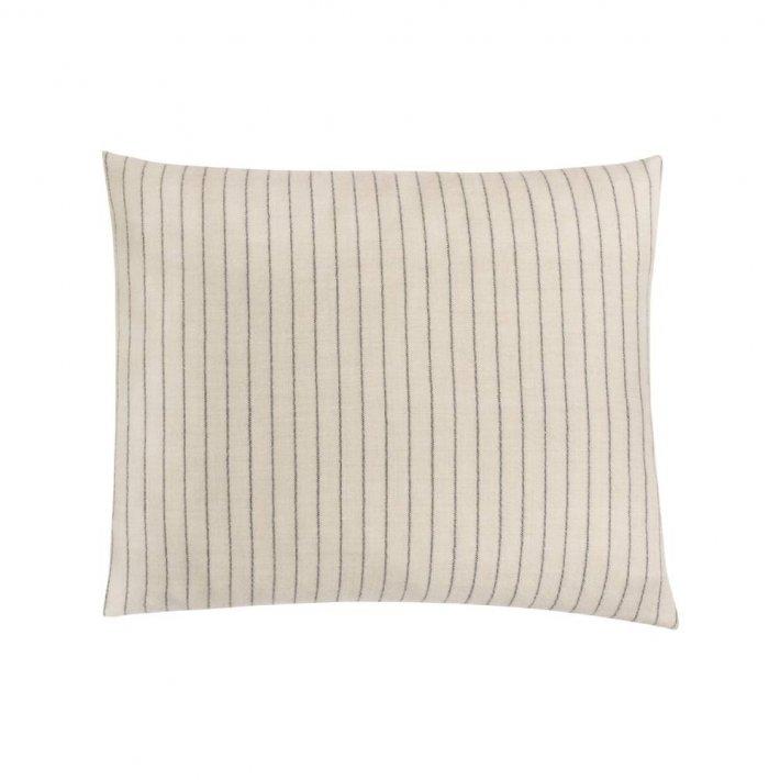 Paustian - SOFT pude Stripes   Creme 50x60 cm