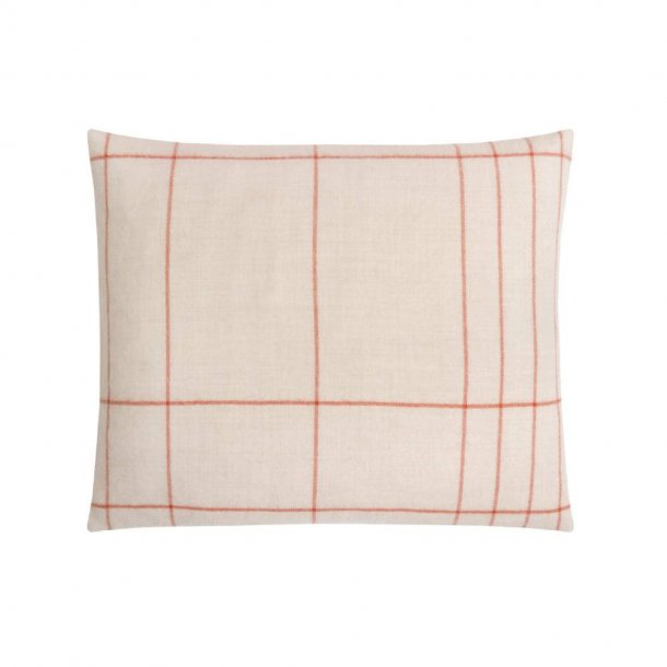 Paustian - SOFT pude Checks | Orange 50x60 cm