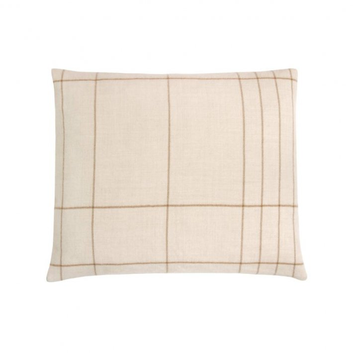 Paustian - SOFT pude Checks | Rust 50x60 cm