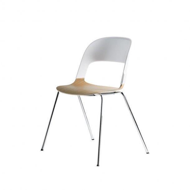 Fritz Hansen - PAIR™ stol BH20 - Forkromet stål
