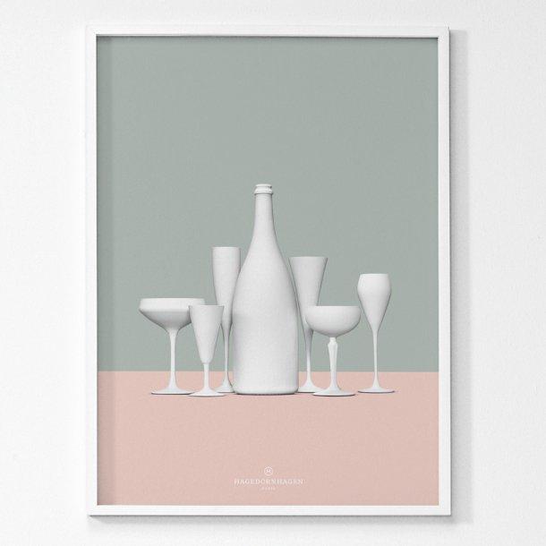 Hagedornhagen - Paris - Plakat 50x70*