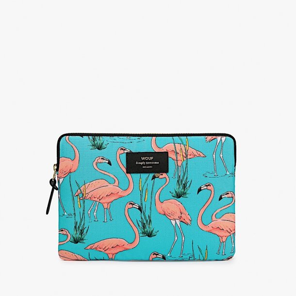 Wouf - Pink Flamingos - Ipad Sleeve