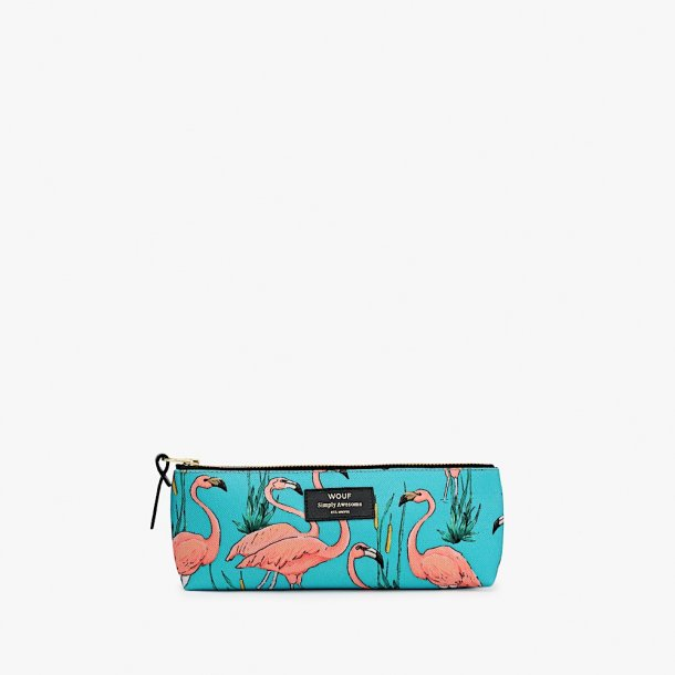 Wouf - Pink Flamingos - Pencil case