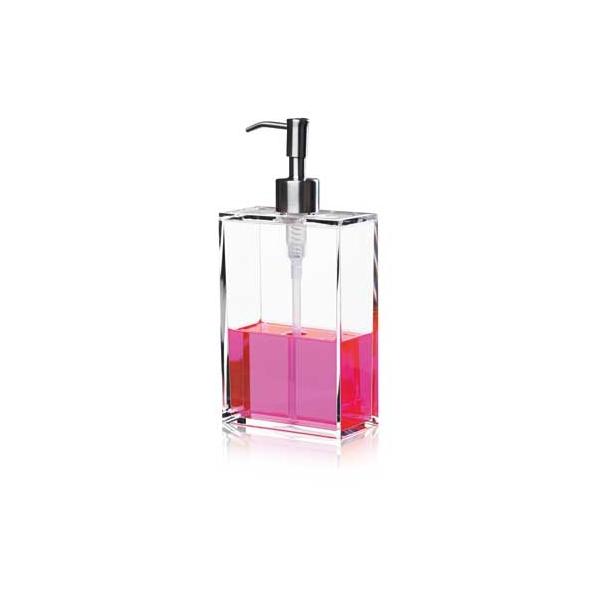 NOMESS - Clear Soap Dispenser - Large - Stål