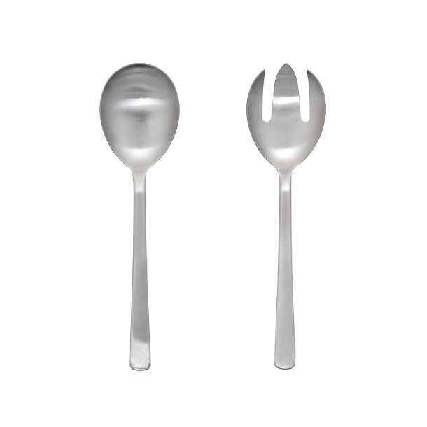 Kay Bojesen - Grand Prix - Salad servers - Matte steel