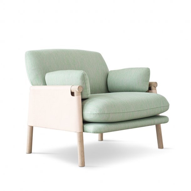 Erik Jørgensen - Savannah Easy Chair EJ 880-1 | Natur kernelæder