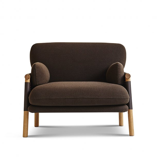 Erik Jørgensen - Savannah Easy Chair EJ 880-1   Mørkebrun kernelæder