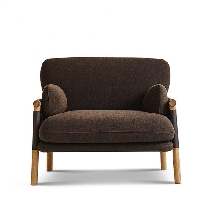 Erik Jørgensen - Savannah Easy Chair EJ 880-1 | Mørkebrun kernelæder
