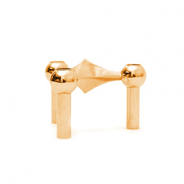 Just Right - STOFF candlestick - Brass