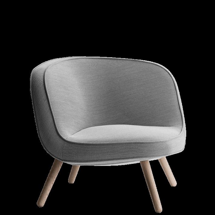 VIA57™ loungechair - Steelcut Trio
