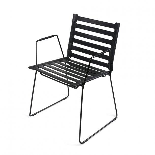 OX Denmarq - Strap Chair - Stol m. armlæn
