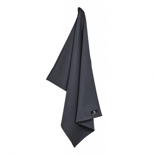 SemiBasic - Dry Tea Towel - Bomuld - M¿rkegrŒ*