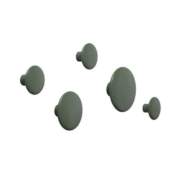 OUTLET - Muuto - The Dots Enkeltvis - Støvet grøn*
