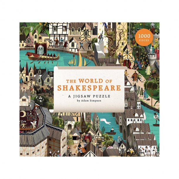 New Mags - World of Shakespeare | 1000 pieces puzzle