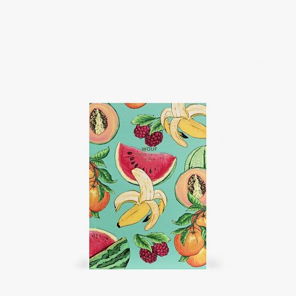 Wouf - Tutti frutti Notebook A5