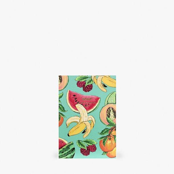 Wouf - Tutti Frutti Notebook A6