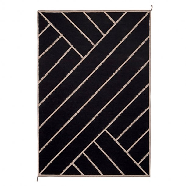 Nordic Modern - VK-2 rug | Black