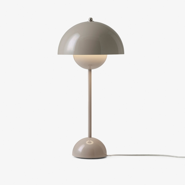 &Tradition - Verner Panton - Flowerpot VP3 - Grey Beige