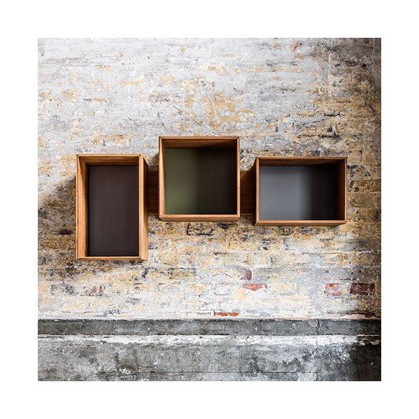 We Do Wood - SJ Bookcase Midi - reol m 3 bogkasser