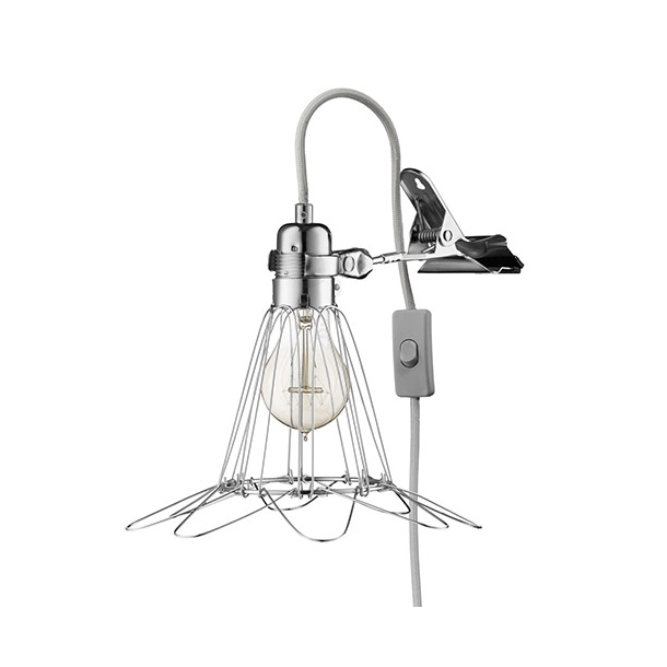 HEYTHEREHI - Work Lamp de Lux - Silver